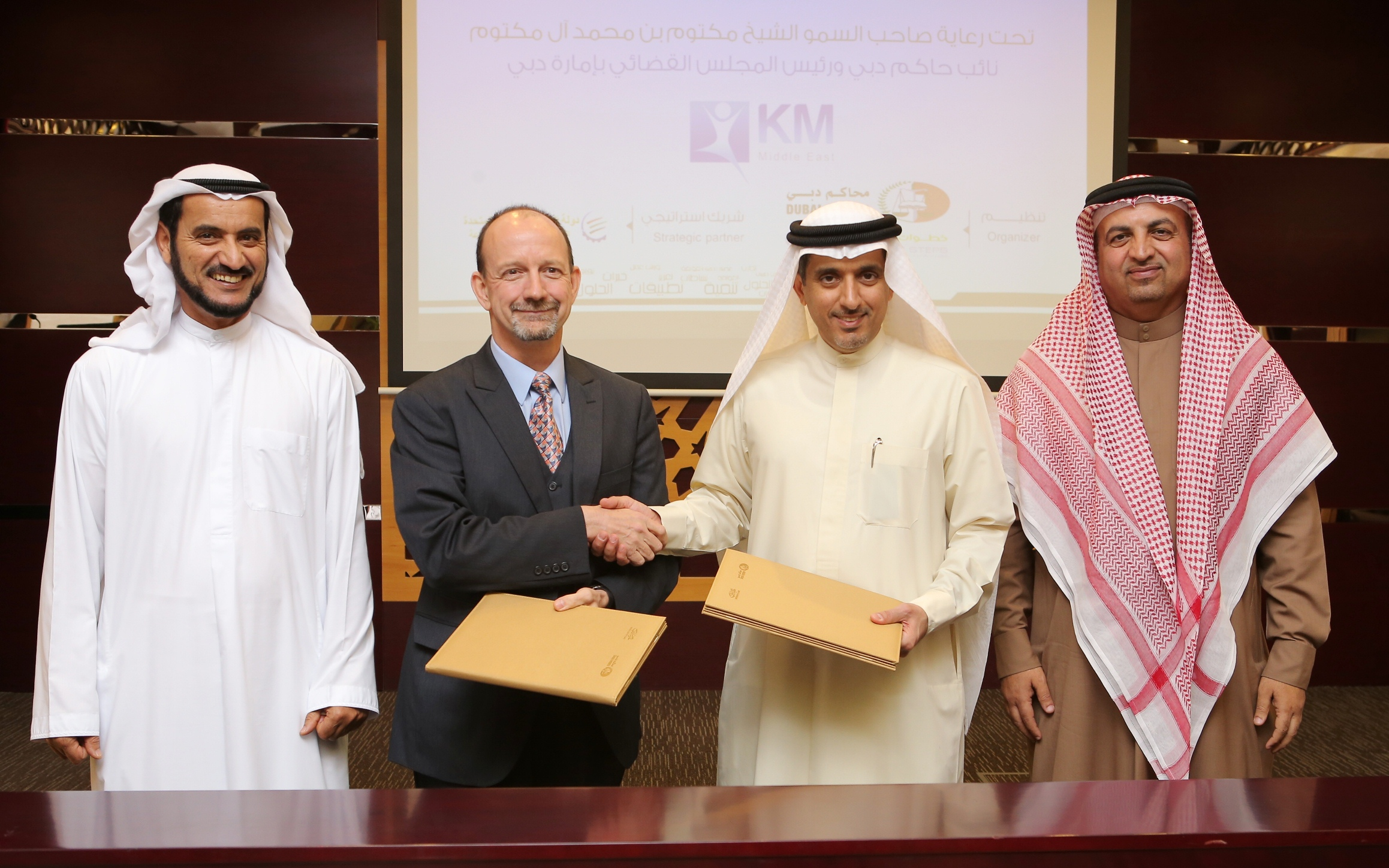 Signing ceremony for KM Middle East 2014