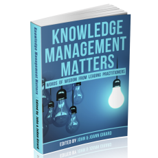 Knowledge Management Matters