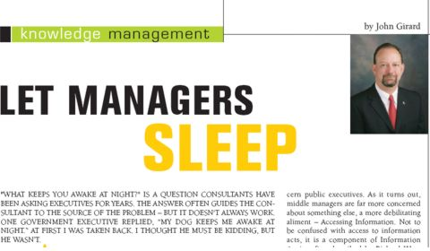 Let Managers Sleep!