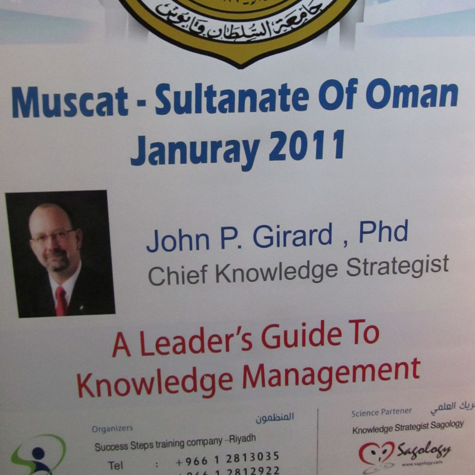 Series of Events in Muscat, Oman
