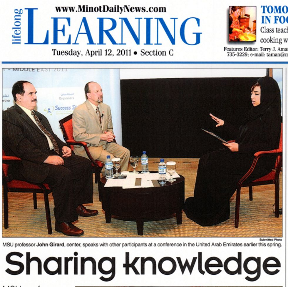 Featured article about KM Middle East