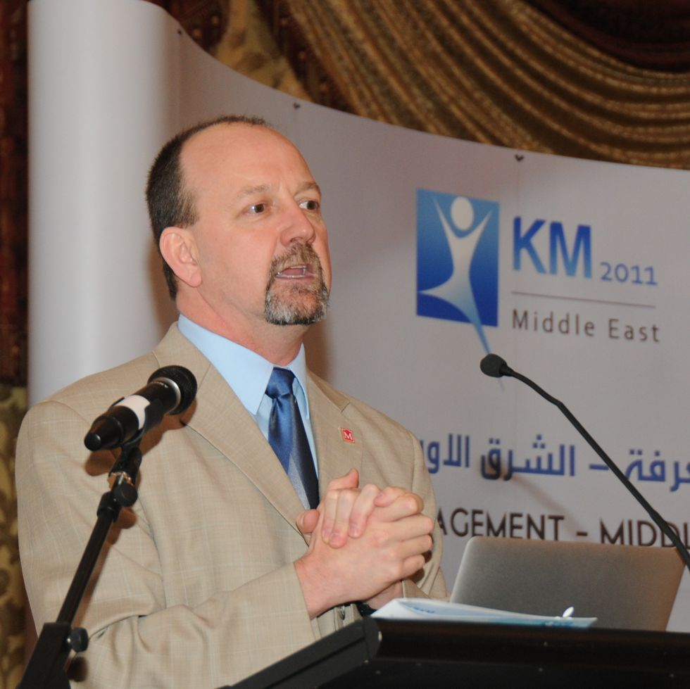 John's Keynote at KM Middle East, Abu Dhabi